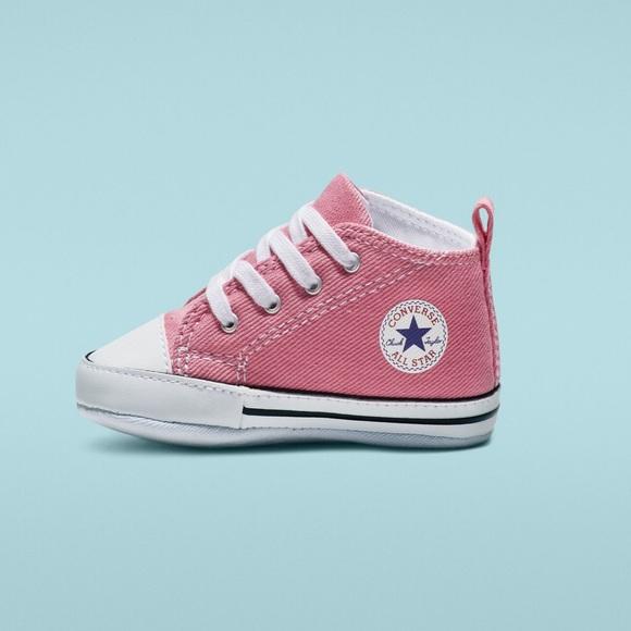 Star Hi High Top Pink Infant Size